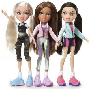Bratz Fierce Fitness Doll Jade